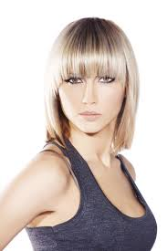 a frame hairstyles with bangs lob hairstyle pictures lovetoknow