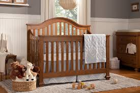 Convertible Sleigh Bed Crib Furniture Baby Cache Montana Crib With Original Rustic Look