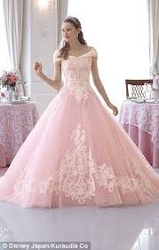 princess wedding dresses uk disney inspired gowns let brides become princess for day daily