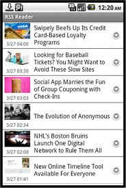 rss reader android exle applications appcelerator platform appcelerator docs