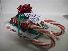 christmas candy gifts candy sled gift idea krafty cards etc christmas projects