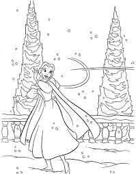 beauty and the beast winter coloring pages cartoon coloring