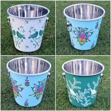 painted easter buckets enamelware painted enamelware manufacturer from srinagar