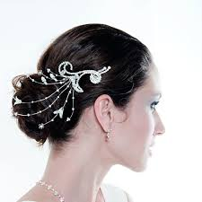 hair decorations diamonds and pearls wedding theme wedding hair pearl accessories