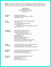 college resume template 52 lovely image of college application resume template resume