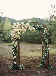 Wedding Arch Greenery Top 12 Wedding Ceremony Arches With Flowers U2014 The Bohemian Wedding