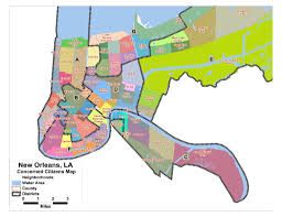 Riverside Zip Code Map by New Orleans Needs 7 Districts Group Tells City Council Nola Com