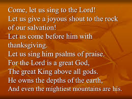 a celebration of thanksgiving oh give thanks to the lord for