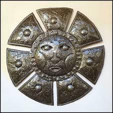 Sun Wall Decor Outdoor 24 Best Haitian Metal Sun U0026 Moon Decorative Wall Art Images On