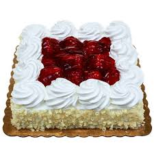 Member s Mark Single Layer Fresh Strawberry Cake Sam s Club