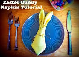 easter napkins easter bunny napkin tutorial sincerely