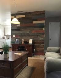 reclaimed wood accent wall wood from recwood planks in 12 best things you can make images on pinterest accent walls nail