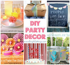 how to decorate birthday table diy party decor the bright ideas blog