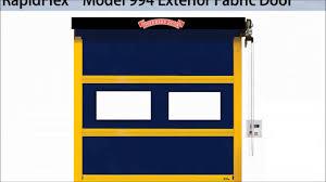 Overhead Door Stop by Rapidflex High Speed Doors Fabric And Rubber Doors From Overhead