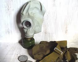 Gas Mask Costume Vintage Horror Mask Etsy