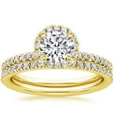yellow gold bridal sets yellow gold bridal sets wedding ring sets brilliant earth