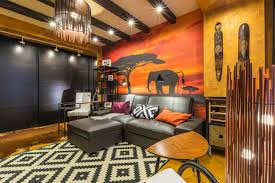 orange home decor stylish living room in orange decor house decor