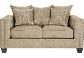 Dimensions Of Loveseat Cindy Crawford Home Sidney Road Taupe Loveseat Loveseats Beige