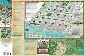 South Carolina Zip Code Map by Savannah Historic District Illustrated Map Michael Karpovage
