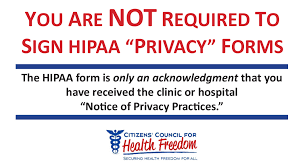 health privacy alert citizens u0027 council for health freedom