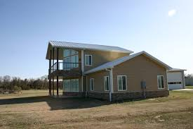 Metal Homes aspen with modifications handsome utilization of red iron steel