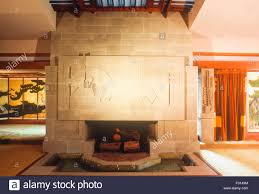 hollyhock house interior of hollyhock house by frank lloyd wright los angeles
