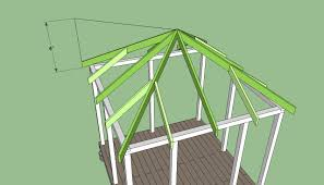 Frame A House by Amazing How To Build A Square Gazebo Roof Garden Landscape