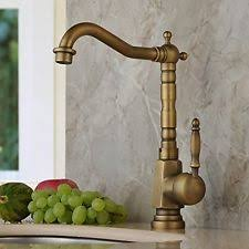 Brushed Brass Kitchen Faucet by Antique Brass Faucet Ebay