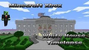 Youtube Whitehouse Minecraft Xbox The White House Timelapse Youtube