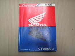 honda vt 600 vt600 vt600c w november 1997 genuine workshop manual