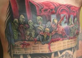 zombie last supper by ryanspeed on deviantart