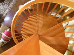 custom craftsman style spiral stair by master woodworks inc