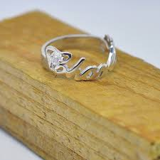 sterling silver name rings wholesale personalized name ring sterling silver design
