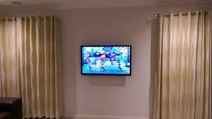 Bedroom Tv Height Wall Mount Blogs Antenna U0026 Tv Installation Services Antennify