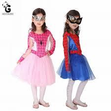 Spiderman Toddler Halloween Costume Cheap Halloween Costume Girls Spiderman Aliexpress