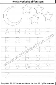 printable alphabet tracing letters free tracing letter tracing free printable worksheets worksheetfun