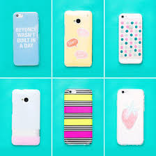 diy these 6 phone cases in under 10 minutes brit co
