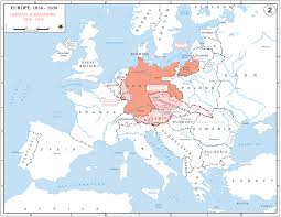 Map Of Belgium And Germany German Conquests In Europe 19391942 Map Showing All Extermination