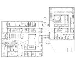 Ground Floor Plan Gallery Of Police Headquarters In Logroño Matos Castillo