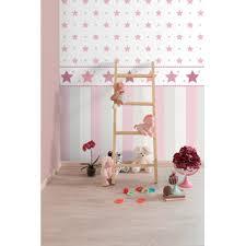 tapete für kinderzimmer bimbaloo 2 kinderzimmer tapete 330136 sterne rosa grau ra