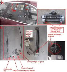diy 1998 528i rear window regulator repair bimmerfest bmw forums