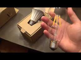 led edison bulb ithird 6w clear vintage led filament light bulb