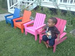 Childrens Adirondack Chair Add Fun And Color To Your Garden Or Porch These Chairs Are Hand
