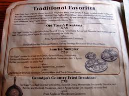 cracker barrel menu with prices restaurant meal prices