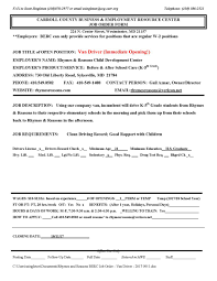 Resume Of An Electrician Carroll County Berc U2013 Carroll County Business U0026 Resource Center