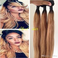 honey weave honey ombre hair extensions 8a