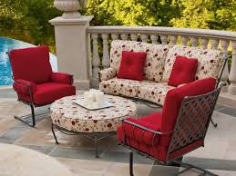 Black Iron Patio Chairs Patio 65 Patio Furniture Sets With Black Metal Patio