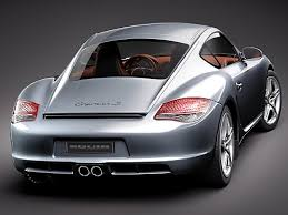 porsche cayman 2011 rebusmarket high quality 3d models