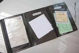 porta documenti auto portalibretto abarth