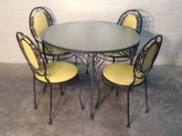 Wrought Iron Kitchen Table Wrought Iron Kitchen Tables Foter